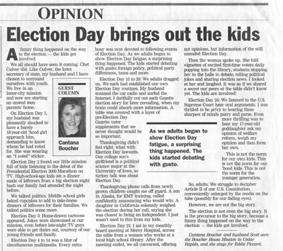 Election Day Article